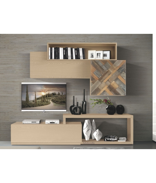 Modular tv unit for modern living room. Sku 7fr