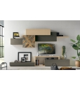 modular living room composition, wooden wall unit, living room unit, wooden composition, Moder design living room furniture, Italian design furniture, Modern design tv stand, Living room furniture in modern style
