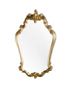 charming mirror, wooden frame, golden mirror, gold mirror, entryway mirror, wall mirror