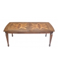 extendable dining table, wooden table, dining table, inlaid table, solid wood table, kitchen table, squared dining table, classic style table,