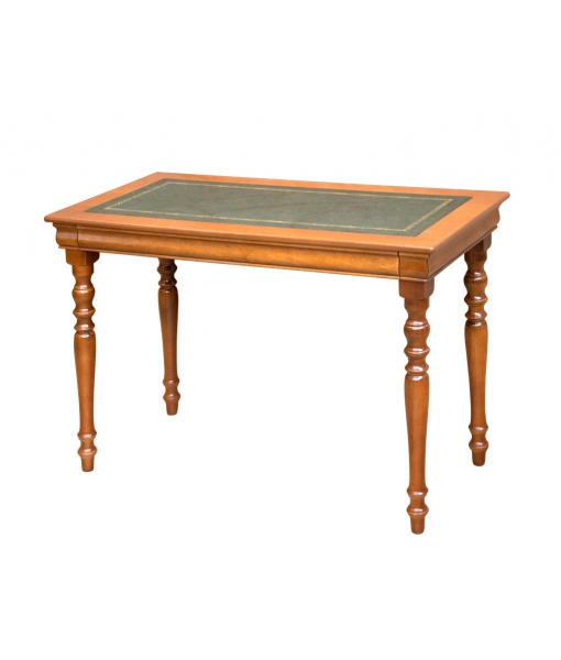 Small writing desk with leather top. Sku 397-plus