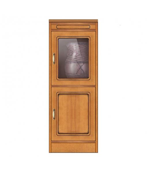 2 door cabinet structure in wood. Sku cn-139