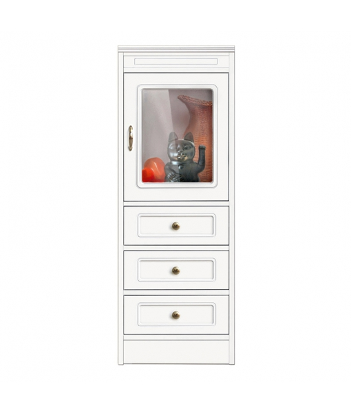 low display cabinet, wooden cabinet, side cabinet, 3 drawers cabinet, living room cabinet, living room furniture, classic furniture