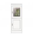 wood cabinet 2 doors cabinet, solid structure, glass door cabinet,