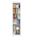 open shelving bookcase, wooden bookcase, Arteferretto furniture, Arteferretto bookcase, space saving bookcase, living room Bookshelf, bookshelf in wood