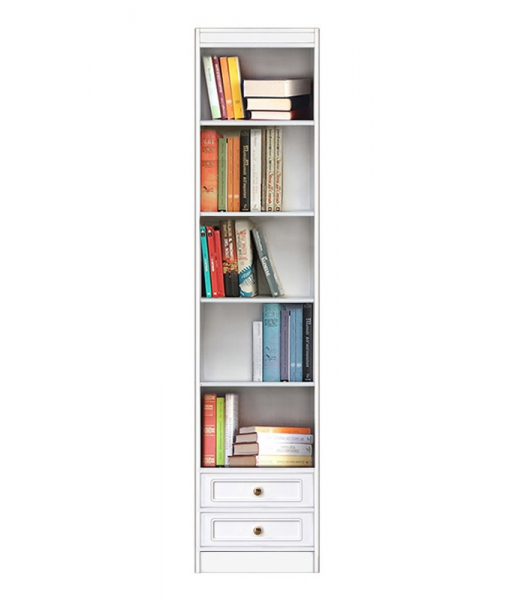 wooden bookcase, modular bookcase, wooden furniture, bookcase in wood, space saving bookcase, Arteferretto furniture