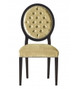 upholstered dining chair, wooden chair, solid wood structure, classic chair, handcrafted chair, classic dining room, classic furniture