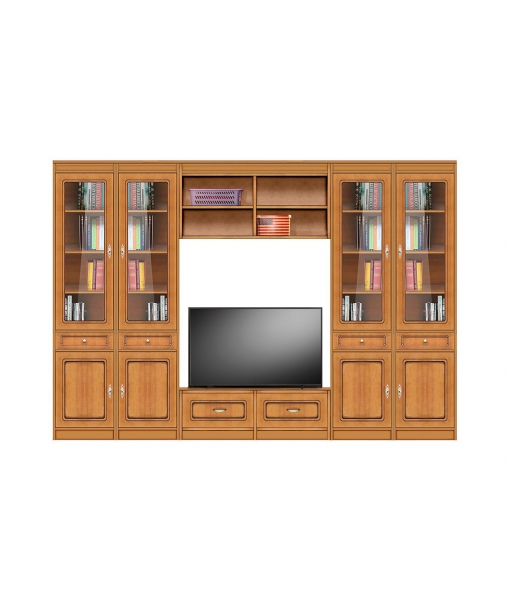 wall entertainment unit, wooden entertainment unit, tv wall unit, living room wall unit, wooden cabinet, display cabinet