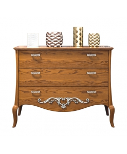 3 drawer dresser in wood, wooden dresser, bedroom dresser, classic chest of drawer, 3 drawers funriture, bedroom furniture, classic style dresser