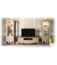 Decorated tv cabinet, wooden tv cabinet, entertainment unit, Italian design living room furniture