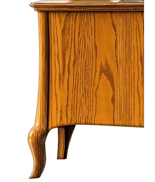 low tv unit in wood, wooden tv unit, tv cabinet, shaped tv cabinet, wooden tv lowboard, living room furniture