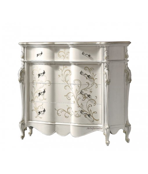 Decorated dresser, wood structure with decorations. Sku mz-b23
