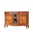 inlaid sideboard, Italian design sideboard, classic style cupboard, wooden sideboard,