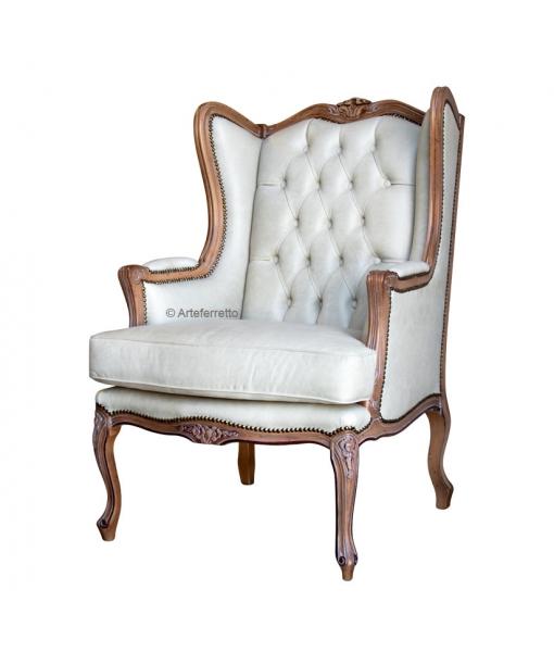 Classic armchair Bergère style. Sku sty-35