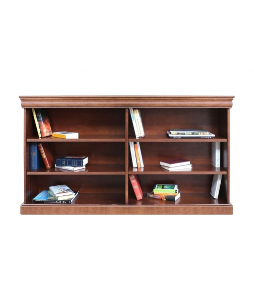 Large open shelving  bookcase  in wood . Sku 194