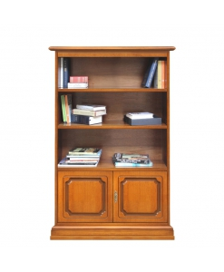 living room bookcase, wooden bookcase, Arteferretto bookcase, small bookcase, wooden cabinet, cupboard, Arteferretto furniture