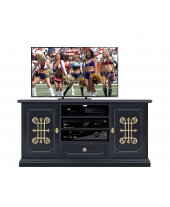 black entertainment unit, wooden tv cabinet, black tv unit, Arteferretto tv cabinet, Arteferretto furniture, living room TV cabinet,black furniture