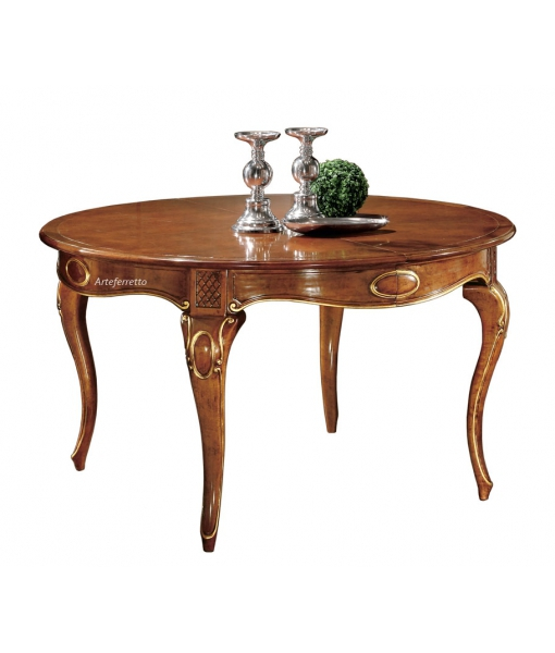 Shaped dining table