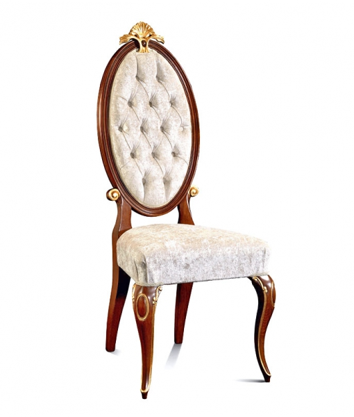 Upholstered dining chair. Sku MG-501