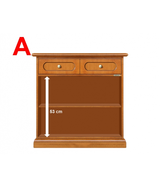 wooden cabinet, inside wooden cabinet, adjustable in height shelf