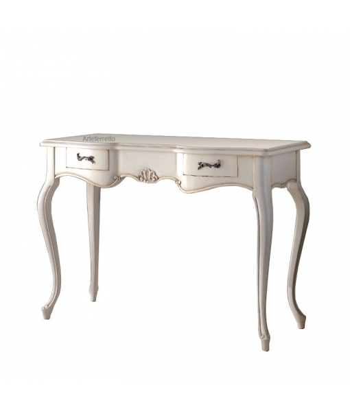 Entryway side table in solid wood. Sku 37-rf