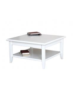 lime wood tea table, wooden tea table, coffee table, lacquered coffee table, squared table, classic coffee table