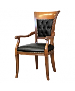 padded head chair, wooden chair, upholstered chair, dining chair