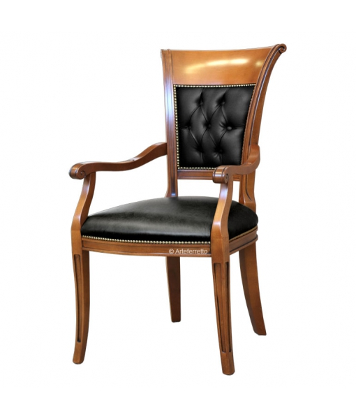 Padded head chair. sku FAG-42-CA