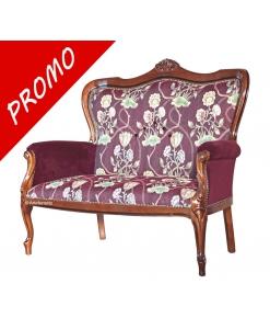upholstered sofa, classic sofa, living room sofa, 2 seater sofa, solid wood sofa, classic style sofa, living room furniture, Italian design sofa