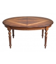 inlaid dining table, turned legs dining table, Extendable oval dining table, dining table in wood, inlaid table, wooden oval table, inlaid top table,