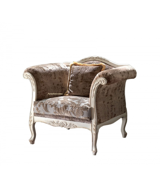 Reading armchair for living room. Sku ms-d21-p