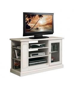 entertainment TV cabinet, wooden TV unit, living room cabinet, living room TV unit, Italian design furniture, Arteferretto furniture, Arteferretto Tv cabinet, Entertainment unit in wood