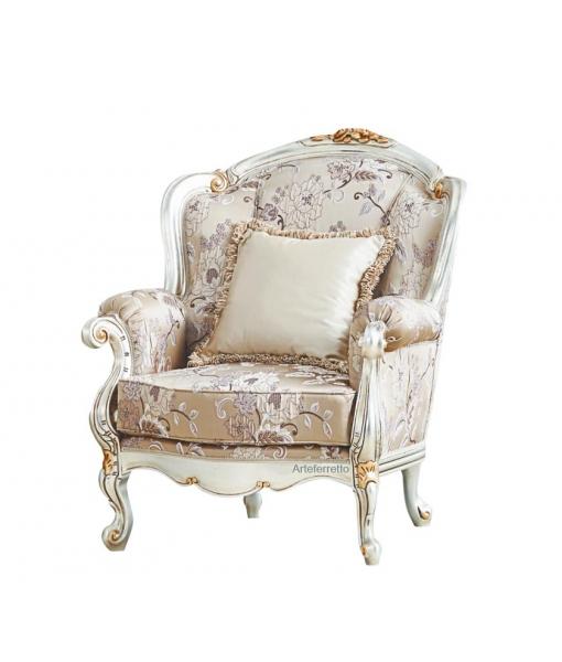 Luxury armchair with golden details. Sku ms-c33