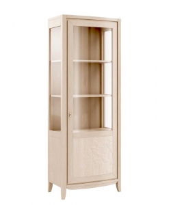 lime wood display cabinet, wooden cabinet, display cabinet in wood, living room furniture, living room cabinet.