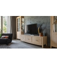 3 drawer entertainment unit, wooden TV unit, living room TV unit, TV stand in wood