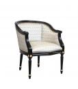 lacquered tub armchair, wooden armchair, tub armchair, living room armchair, reading chair, classic style armchair, black armchair, handcrafted armchair, solid beech wood armchair, Italian design armchair