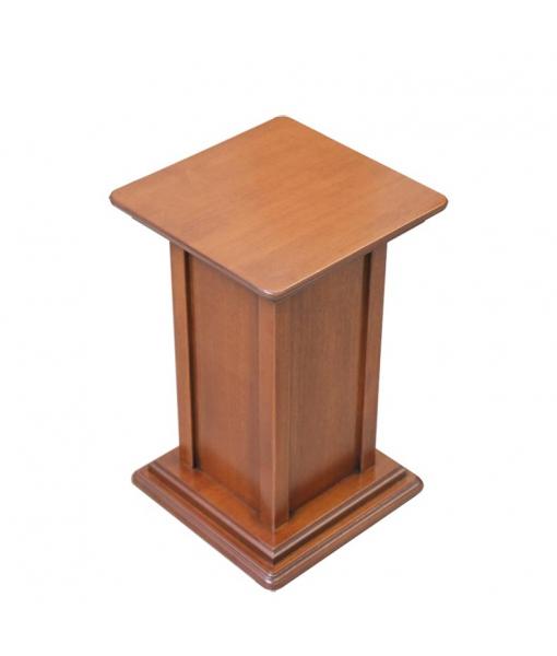 Pedestal stand in wood 40 cm. Sku pv-01-40cm