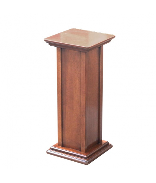Pedestal stand in wood. Height 60 cm. Sku pv-01-60cm